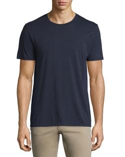 Vince  - Short-Sleeve Pima Crewneck Jersey T-Shirt