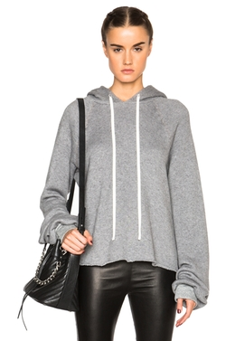 Unravel  - Oversized Cashmere Hoodie