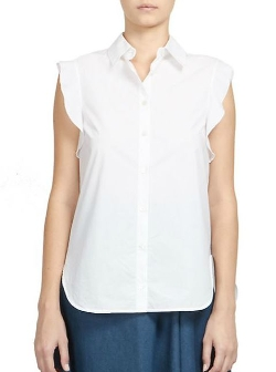Stella McCartney  - Ruffle Button-Down Shirt