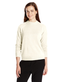 Knits by Hampshire - Lux Zipback Mock Neck Sweater