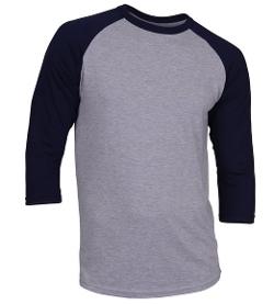 GR Apparel - Baseball Tshirt Raglan Jersey Shirt