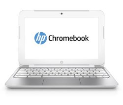 Hp - Chromebook (Snow White) Laptop