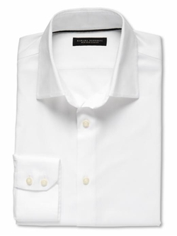 Banana Republic - Slim Fit Non-Iron Textured Solid Shirt