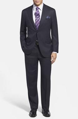 Corneliani  - Trim Fit Wool Suit