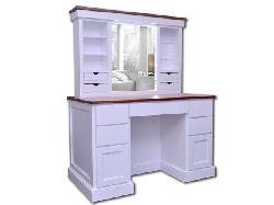 Touchstone - Illuminated Pop-up Mirror Vanity Desk