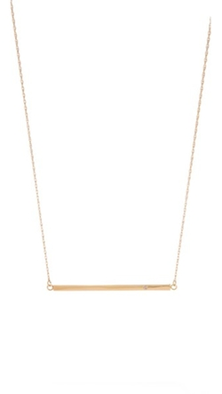 Jennifer Zeuner Jewelry - Horizontal Bar Necklace