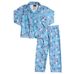 Diva - Love Flannel Pajama Set