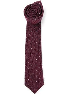 BRUNELLO CUCINELLI  - embroidered tie