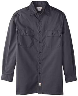 Carhartt  - Twill Work Shirt Long Sleeve Button Front Shirt