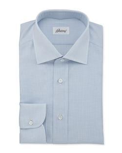 Brioni  - Textured Woven Dress Shirt