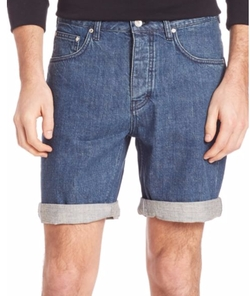 WeSC - Conway Five-Pocket Jean Shorts