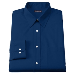 Croft & Barrow - Classic-Fit Solid Broadcloth Point Collar Dress Shirt