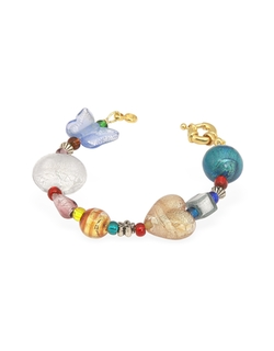 Antica Murrina - Fanny - Multicolor Murano Glass Bead Bracelet