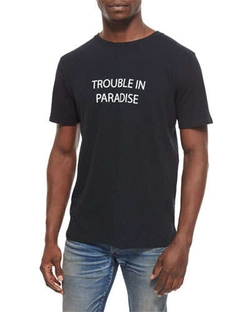 Rag & Bone - Trouble in Paradise Knit Graphic Tee