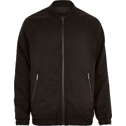 River Island - Longer Length Bomber Jacket