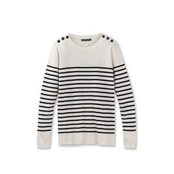 Petit Bateau - Striped Sailor Sweater