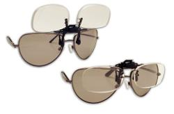 Fisherman Eyewear  - Flip and Focus Clips Onto Regular Eyeglasses