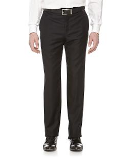 Hickey Freeman - Wool Twill Dress Pants