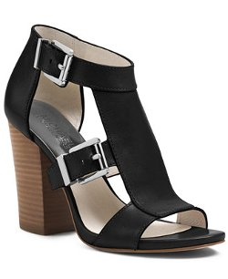 MICHAEL Michael Kors - Robin T-Strap Wedge Sandals