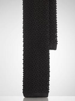 RALPH LAUREN BLACK LABEL - Silk Knit Tie