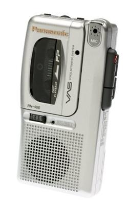 Panasonic  - RN405 Micro Cassette Recorder
