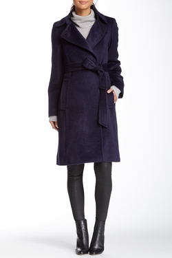 Sofia Cashmere - Alpaca Wool Wrap Coat