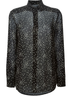 Saint Laurent   - Star Print Blouse