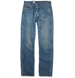 Chimala - Selvedge Washed-Denim Jeans