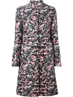 Giamba   - Floral Brocade Coat