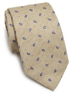 Ike Behar - Neat Paisley Silk Tie