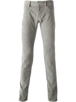 Dsquared2  - Slim Fit Cord Jeans