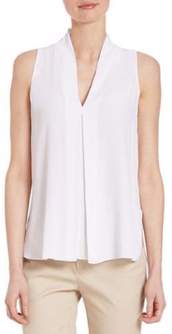 Lord & Taylor - V-Neck Blouse