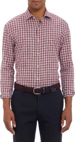 Barneys New York  - Plaid Shirt