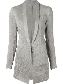 Transit - Shawl Collar Textured Jacket