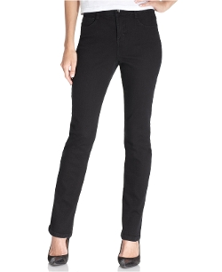 Style & Co. - Noir Wash Slim-Leg Jeans