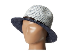San Diego Hat Company  - Mixed Braid Belted Fedora Hat