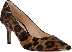 Barneys New York - Leopard-Print Haircalf Milly Pumps