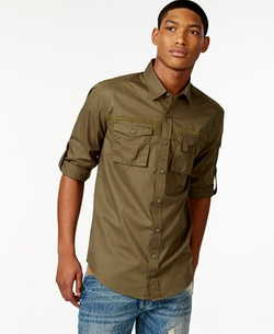 Sean John  - Flight Poplin Shirt