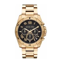 Michael Kors - Chronograph Brecken Stainless Steel Bracelet Watch