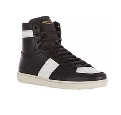Saint Laurent - SL/10H Classic Court Sneakers