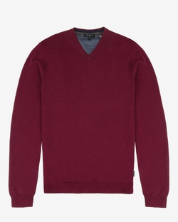 Inko - Cashmere Blend V-Neck Sweater