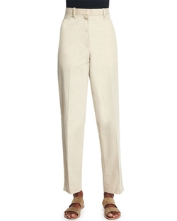 The Row  - Mapion Straight-Leg Ankle Pants