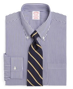 Brooks Brothers - Non-Iron Traditional Fit Bengal Stripe Dress Shirt