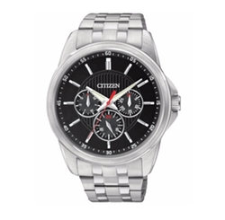 Citizen - Black Dial Stainless Steel Bracelet Watch