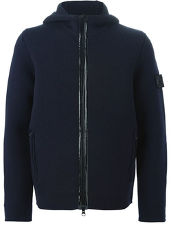 Stone Island - Hooded Zip Cardigan Jacket