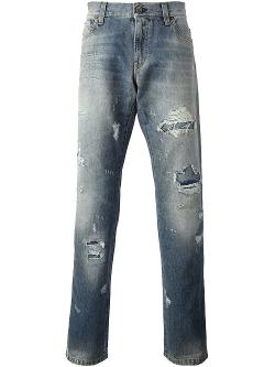Dolce & Gabbana - Loose Fit Jeans
