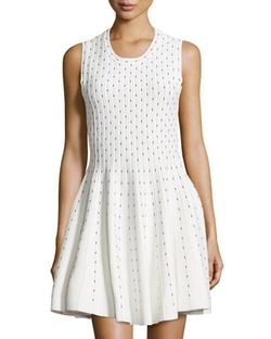 Line - Ticker Ribbed Fit-and-Flare Dress