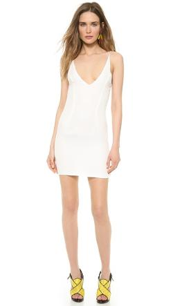 Olcay Gulsen  - Cross Back Mini Dress