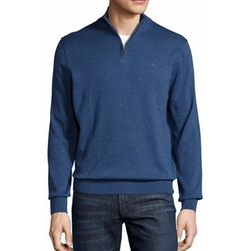 Lacoste - Quarter-Zip Jersey Sweater