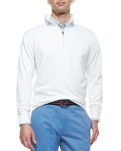 Peter Millar - 1/2-Zip Jersey Pullover Sweater